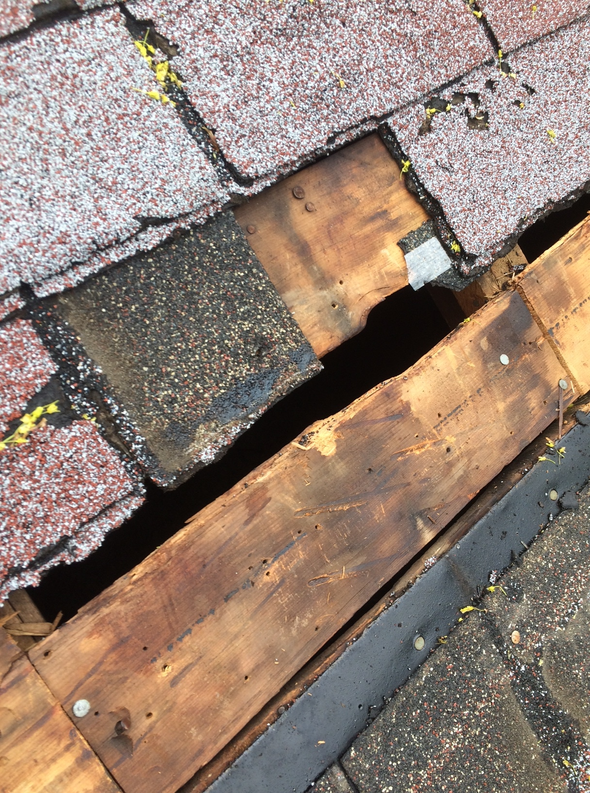 Repairs To Damaged Wood Deck On Flat In Toronto Roofing