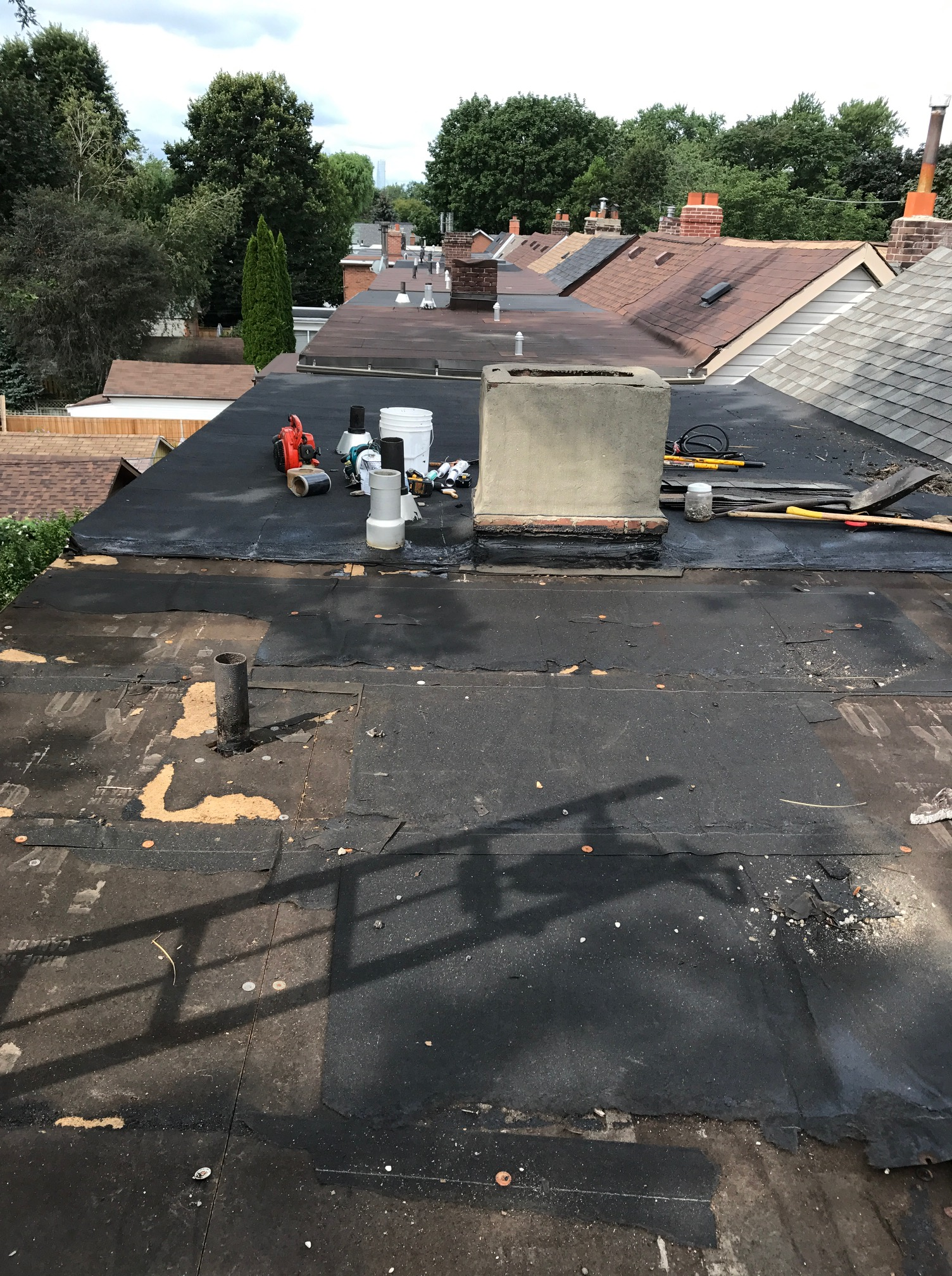 Flat Roof Replacement In Toronto Roofing Repair Company