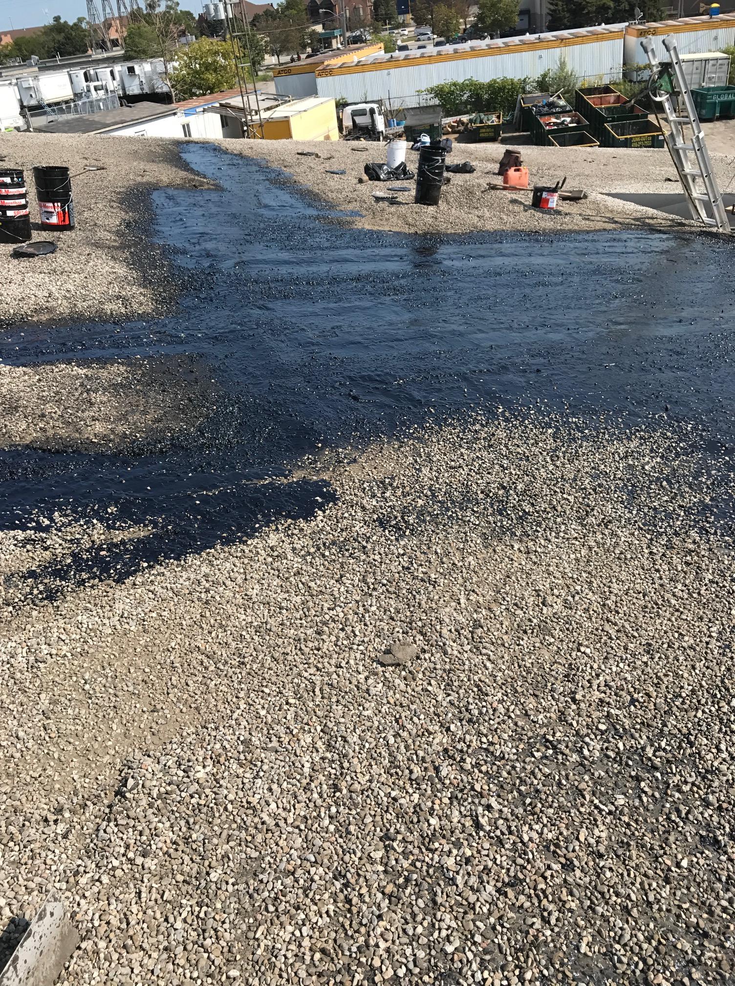 Flat roof repair Etobicoke