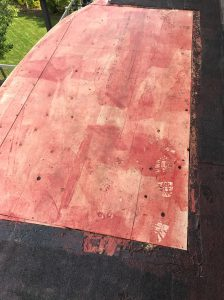 Self adhering membrane flat roof Whitby