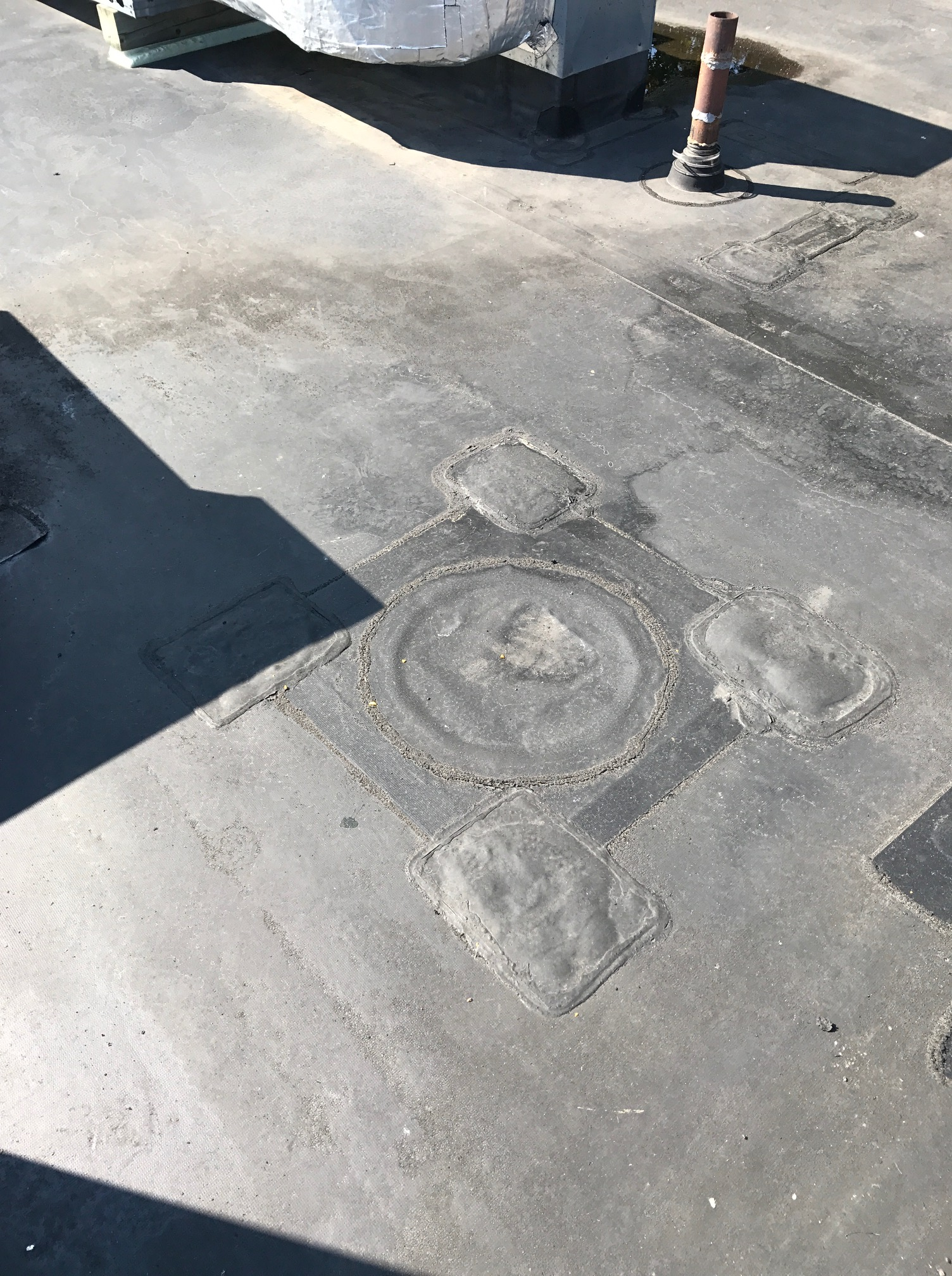 EPDM repairs commercial building Whitby