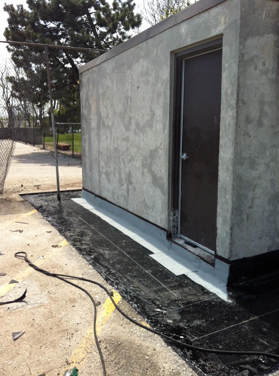 Parking deck waterproofing in Whitby