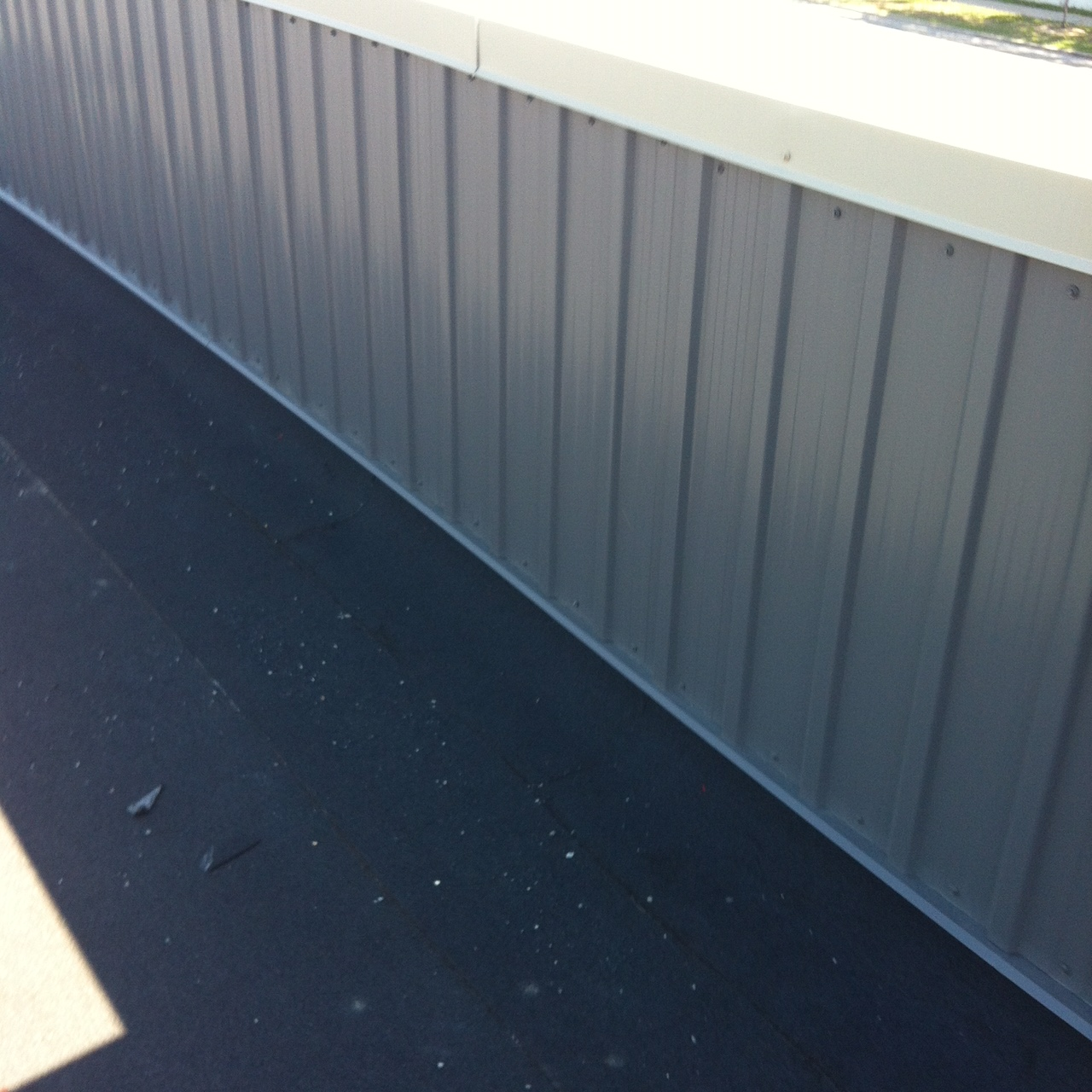 Commercial metal siding in Ajax