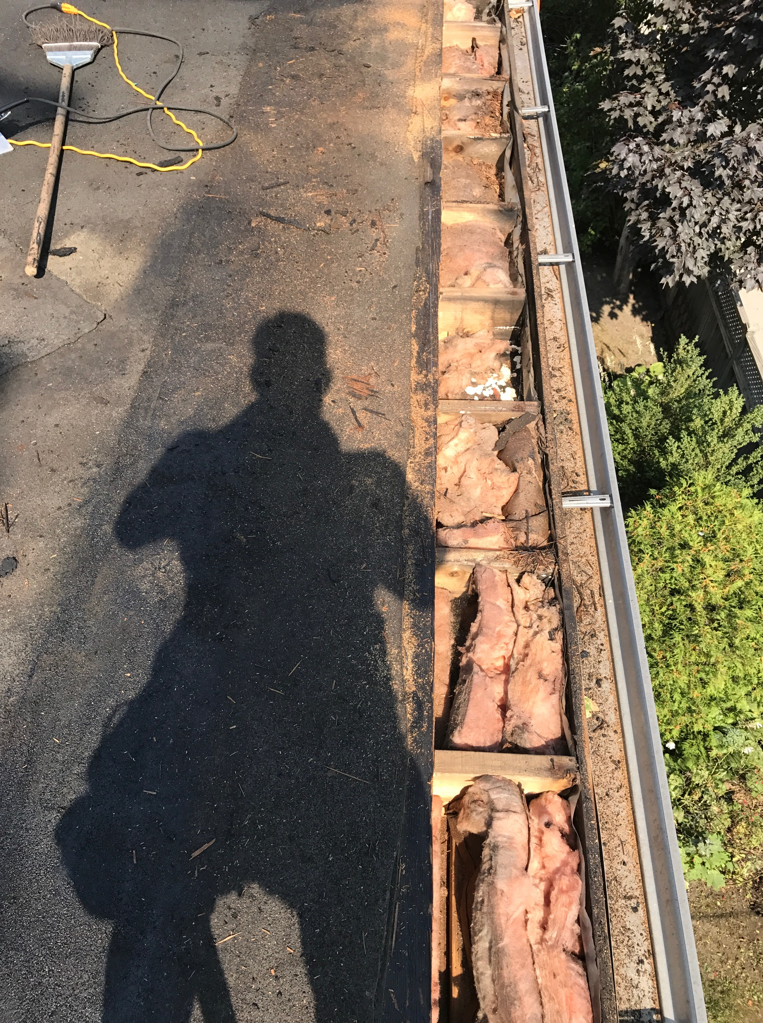 Wood deck repairs residential flat roof Toronto