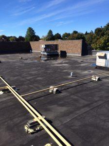 Commercial flat roof repair Ajax