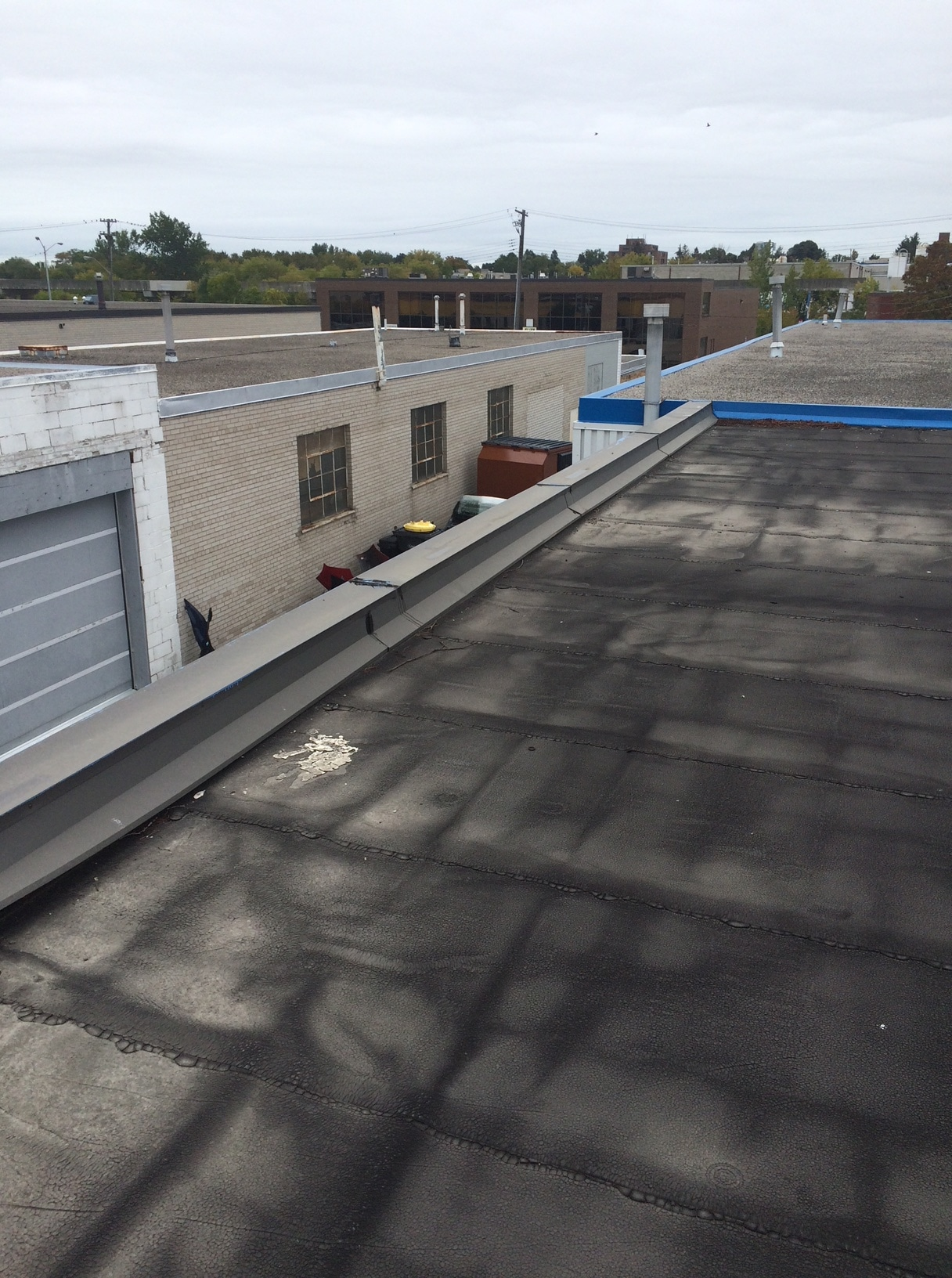 Modified bitumen membrane roof repair Scarborough