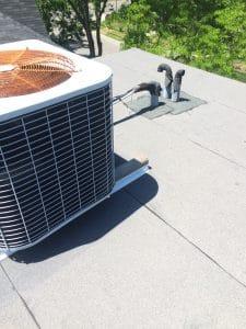 Flat roof membrane repair in Toronto