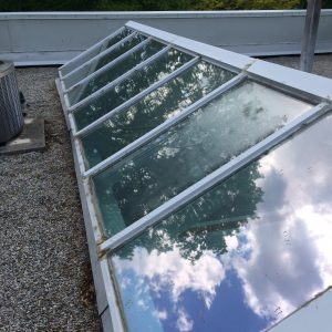 Skylight repairs to flat roof in Scarborough