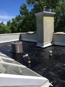 Torch down membrane roof in Scarborough