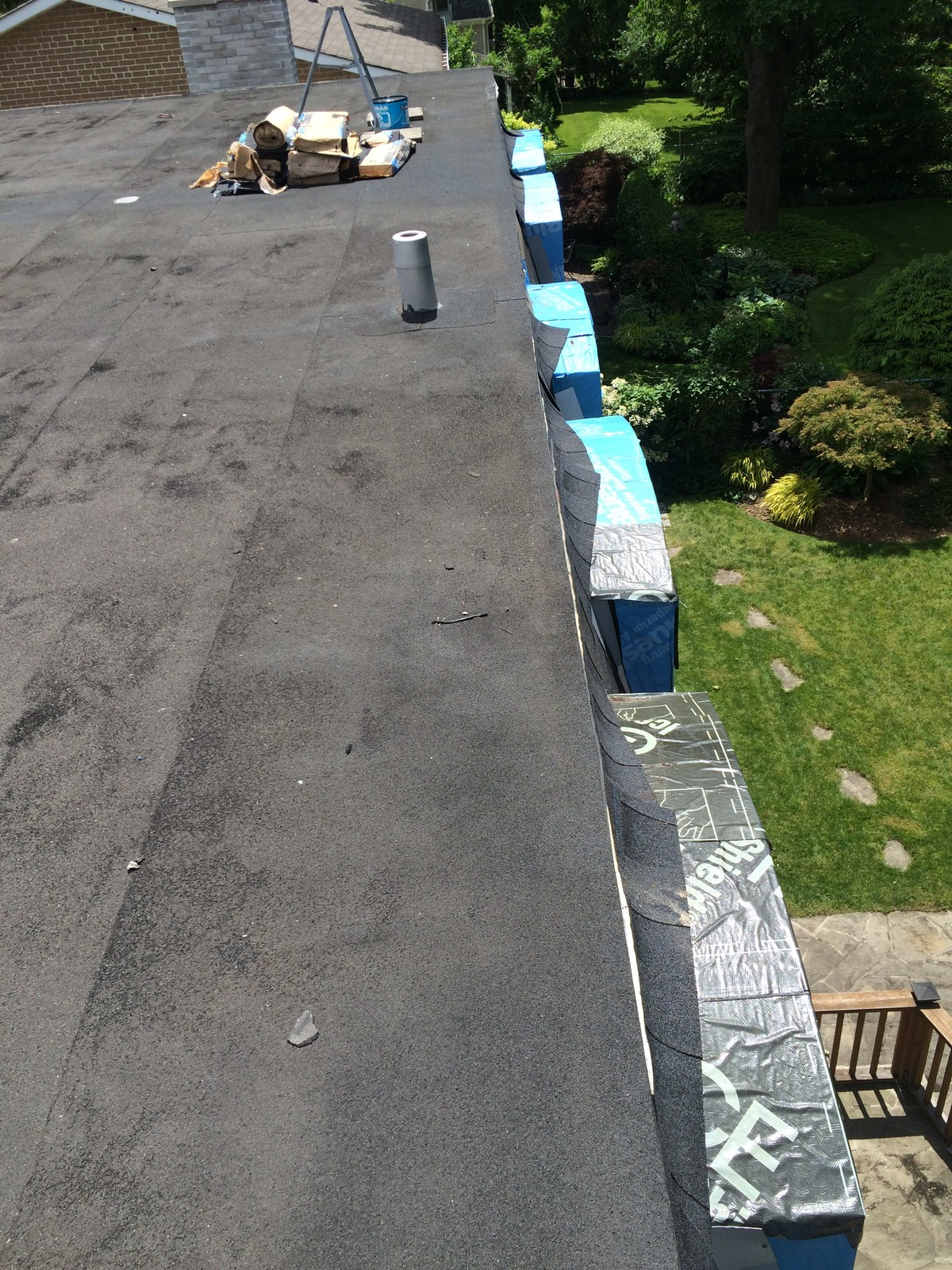 Insurance inspection flat roof north York