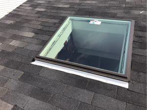 New skylight install in Pickering Ontario