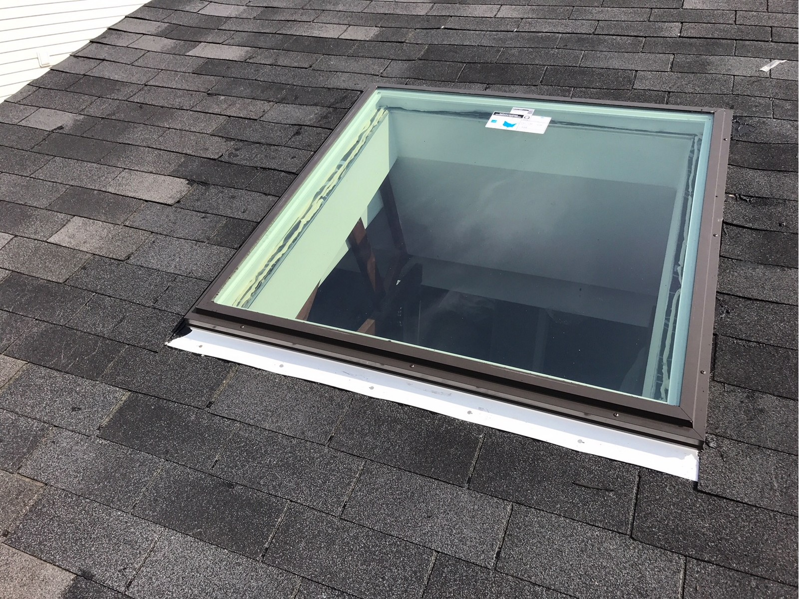 New skylight install in Pickering Ontario