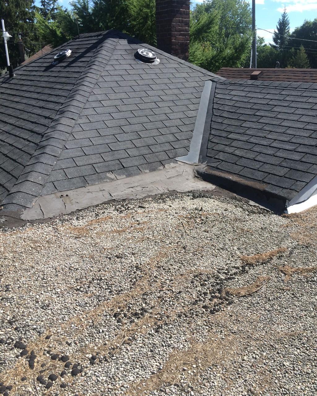 Shingle And Flat Roof Repair Pickering Roofing Repair