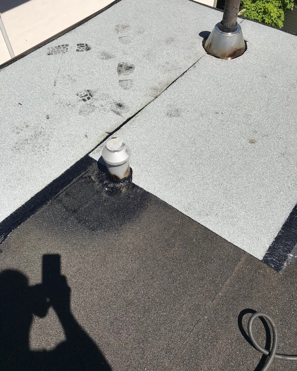 Modified bitumen applied roofing membrane in Toronto