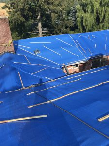 Emergency roof repairs to residential home in Markham