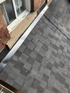 New shingle install on historic home in Toronto