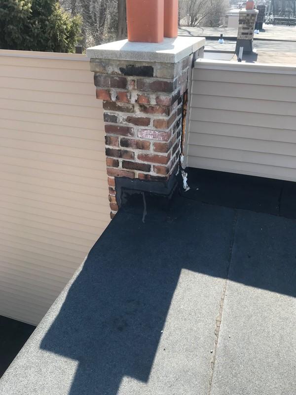 Flat roof repairs to SBS bitumen membrane on residential flat on Toronto