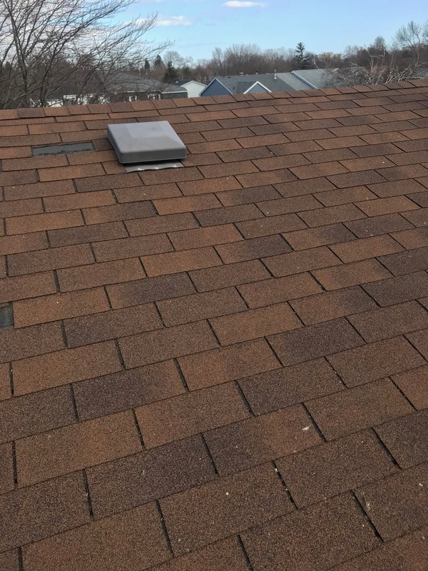 Shingle installation on roof in Pickering