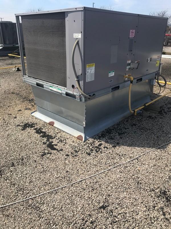 Strategic repairs to roof top unit on flat roof in Burlington