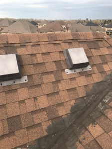 Temporary roof repairs to home in Whitby