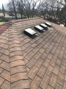 Roof repairs to breather vents on home in Scarborough