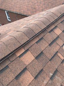 Ridge vent installation repairs in roof in Scarborough