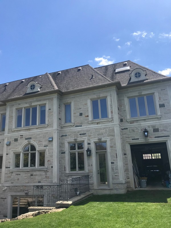 Strategic repairs to barrel roof dormers of home in Markham