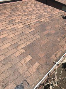 Roof repairs on home in Vaughn using Fiberglas shingles