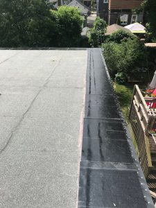 Sopralene Flam Stick self-adhering membrane on flat roof Scarborough
