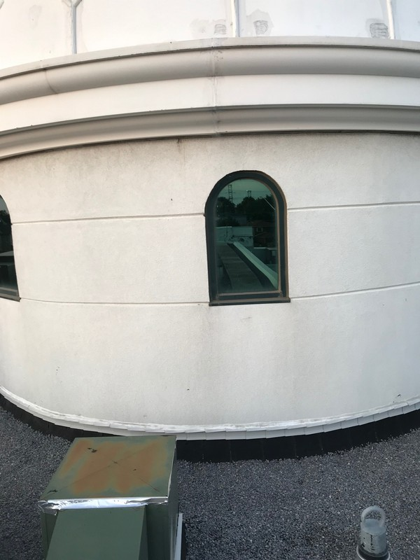 Flat roof repairs to dome structure on Mosque in Pickering