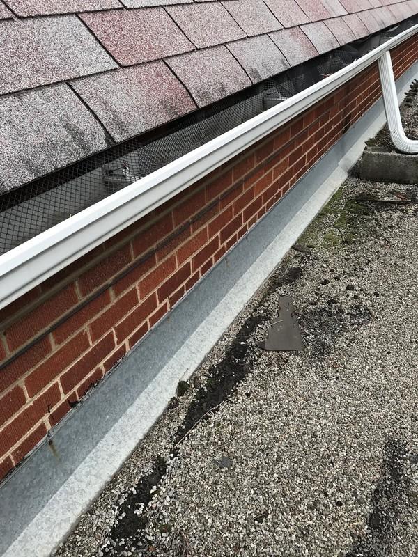 Blistered membrane repair on car port flat roof in Scarborough