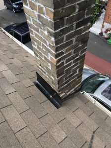Chimney repairs on residential property in Scarborough