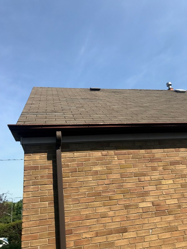 Continuous air flow via new breather vents on roof in Scarborough