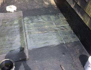 EPDM Membrane Flat Roof Repair by Metro Roofing