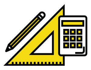 Flat Roof Inspection Icon